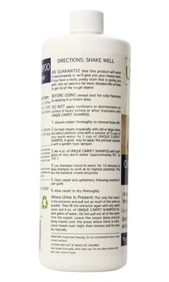 32oz. Carpet Shampoo (Concentrate - makes 1 gallon)