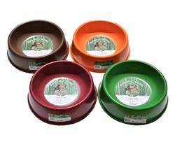Orange Bamboo Bowls - For Dogs