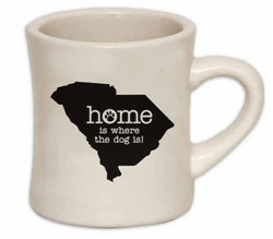 Home Is Where The Dog Is (SC) - 10oz Diner Mug