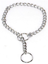 Choke Chain Training Collar Necklace