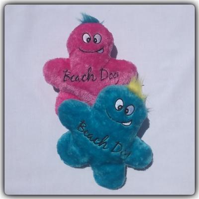 Beach Dog - Blue Man