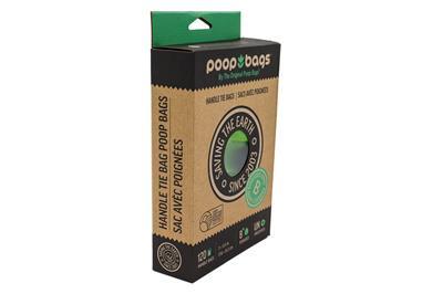 Biobased Handle Tie Poop Bags