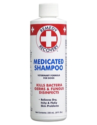Remedy + Recovery Medicated Shampoo for Pets, 8-Ounce