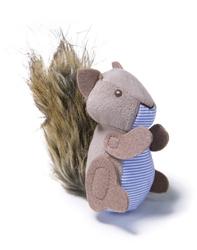 Petlinks Plush Player Squirrel Refillable w/Catnip Tube