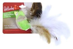 Petlinks Natural Prey Feathered Crinkle Animals