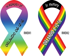Orlando Memorial Ribbon Magnets