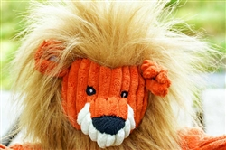 Plush Corduroy Durable Lion Knotties