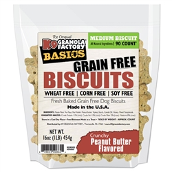 Simply Biscuits Grain Free Crunchy Peanut Butter