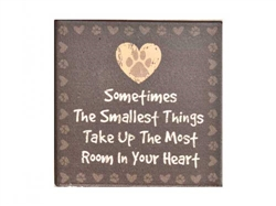 Sometimes the Smallest Things... Single Square Coaster 6 pk