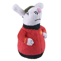 Star Trek™ Wobble Mouse Cat Toy - Red Shirt