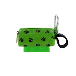 Single SQ Duffel w/ 1 Refill Roll - Green Paw / Rainforest