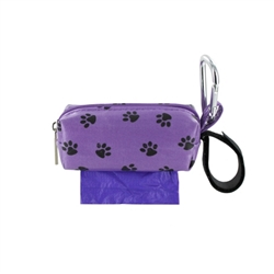 Single SQ Duffel w/ 1 Refill Roll - Purple Paw / Lavender
