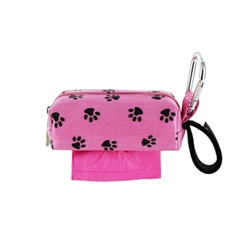 Single SQ Duffel w/ 1 Refill Roll - Pink Paw / Citrus