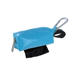 Dogbag Duffel - Solid Turquoise - Black/Unsented - 1 Roll