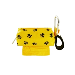 Single SQ Duffel w/ 1 Refill Roll - Yellow Paw / Ocean