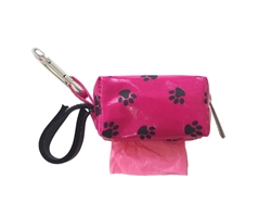 Designer Duffle - Pink Paw - Pink/Citrus - 1 Roll