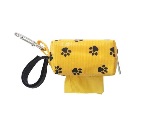 Designer Duffle - Yellow Paw - Yellow/Ocean - 1 Roll