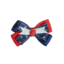Anchor Collar Slider - Navy