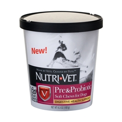 Pre and Probiotics Soft Chews 120 ct