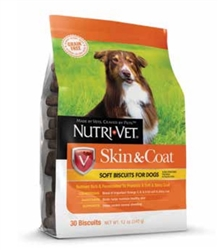 GRAIN FREE Skin & Coat Soft Biscuits 30 ct