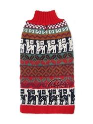 Alqo Wasi Rollneck Alpaca Sweater, Crazy Llama