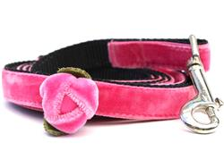 Rosebud Pink Dog Leash