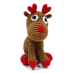 PAWer Squeaky Toy - Reindeer