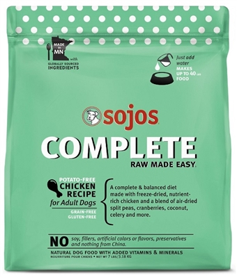 Sojo's Complete Dog Food