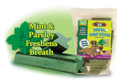 Mr. Scooch Mint Dental Chews - 10oz Bags