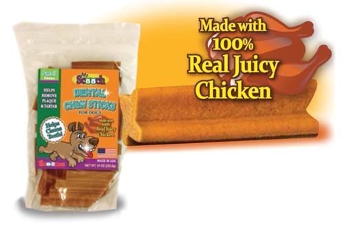 Mr. Scooch Juicy Chicken Dental Chews - 10oz Bags