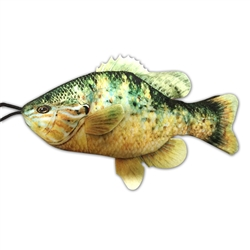 Sunfish Dog Toy w/ Rope - Freshwater Fish