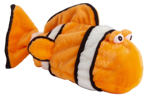 Plush Bottle Clown Fish