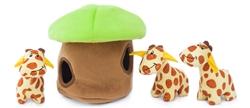 Giraffe Lodge Burrow by Zippy Paws