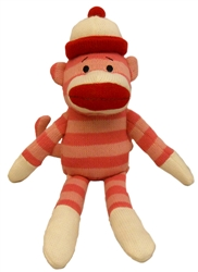 Pearl Sock Monkey by Lulubelles Power Plush