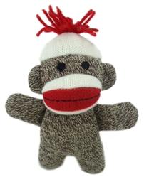 Kiki Baby Sock Monkey by Lulubelles Power Plush
