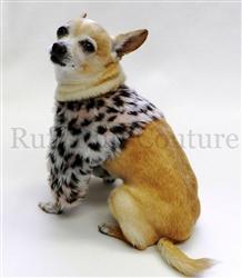Park Avenue Pink Leopard Shrug  by Ruff Ruff Couture®