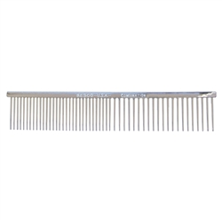 Resco Chrome Med/Coarse Combination Combs