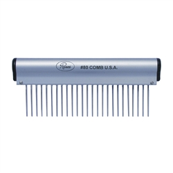 Resco Ergonmic Pet Comb -  1.5 inch Pins,  6 inch