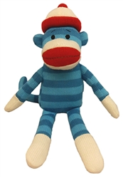 Lulubelles Power Plush - Wink Sock Monkey Blue