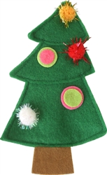 Cat N` Around Christmas Tree Toy