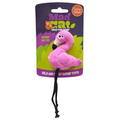 Mad Cat® Flingin' Flamingo -  CAT TOY w/Catnip & Silvervine -  4 Pack 8.24 ($2.06 EACH)