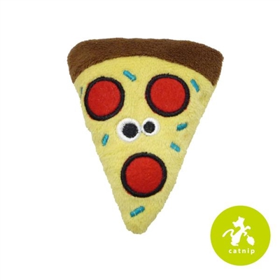 Mad Cat® Peppurroni Pizza CAT TOY w/Catnip & Silvervine 4 Pack $9.28 ($2.32 EA)