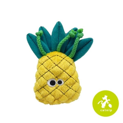 Mad Cat® Purrfect Pineapple -  CAT TOY w/Catnip & Silvervine  4 Pack $12.00 ($3.00 EA)