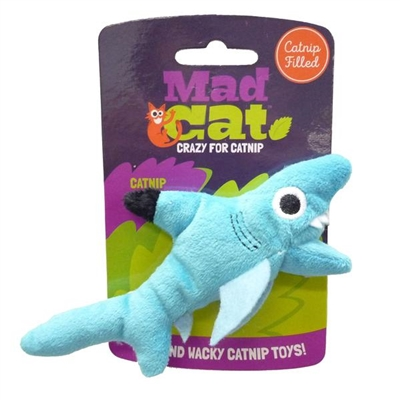 Mad Cat® Shark Biter CAT TOY w/Catnip & Silvervine 4 Pack $11.32 ($2.83 EA)
