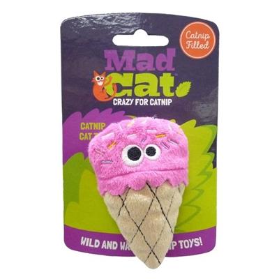 Mad Cat® Strawpurry Ice Cream - CAT TOY w/Catnip & Silvervine 4 Pack $9.28 ($2.32 EA)