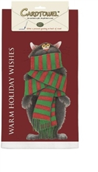 Warm Holiday Wishes Towel