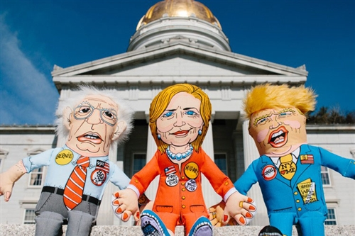 "Bernie Dog Toy - 17"" Presidential Parody Toys"