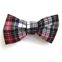Black & Red Plaid Bowties