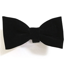 Black Velvet Bowties