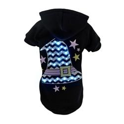 Led Lighting Santas Magical Hat Pet Hoodie